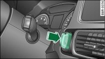 почему загорается в audi перечёркнутый ключ и ignition lock defective
