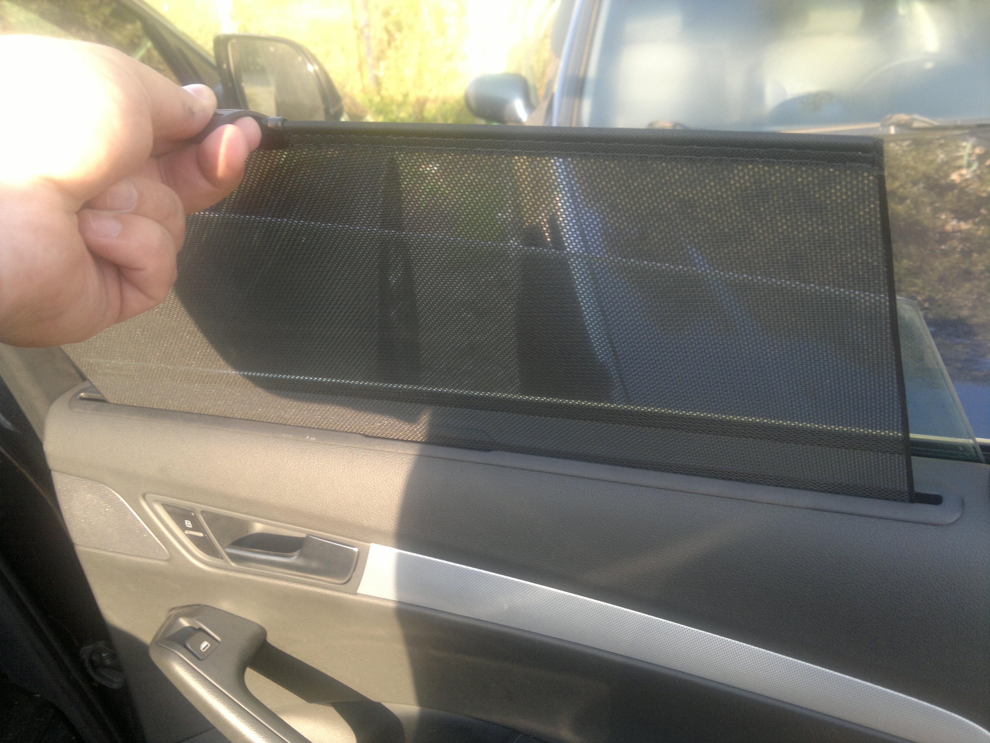 Шторки на авто своими руками